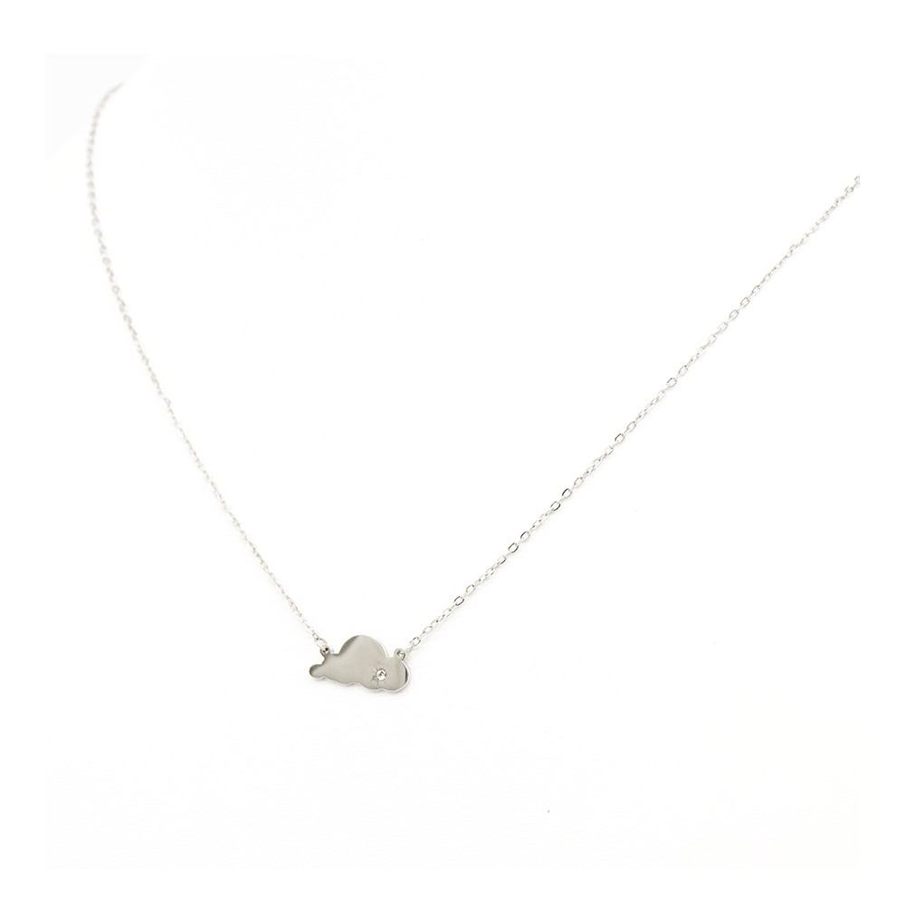 COLLIER NUAGE STRASS