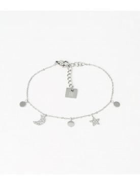 Bracelet Zag acier