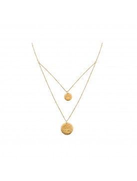 Collier HIPANEMA ombre gold