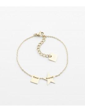 Bracelet Lucky Heart  ZAG doré