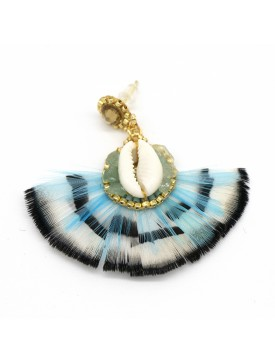 Boucles coquillage