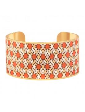 Bracelet Manchette ORANGE...