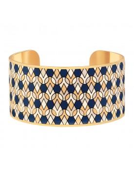Bracelet MANCHETTE MAI BLEU...