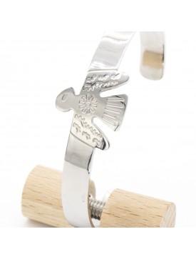 Bracelet faucon dore