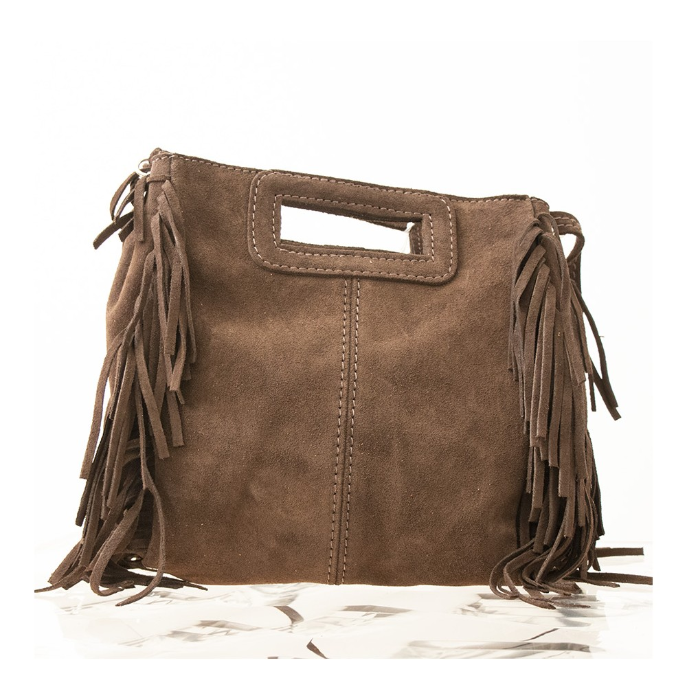 SAC DAIN FRANGE MARRON
