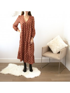 PULL LONGUE ROUGE 2046